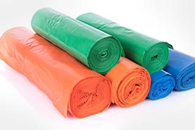 Suministros plásticos bolsas